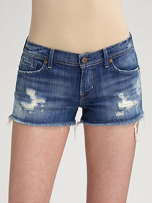 Citizens of Humanity Mini Denim Shorts