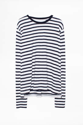 Zadig & Voltaire Hector Stripes T-Shirt