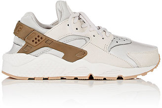 Nike Women's Air Huarache Run Premium Sneakers $130 thestylecure.com