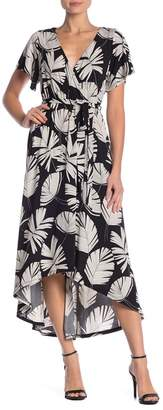 WEST KEI Hi-Lo Floral Dress