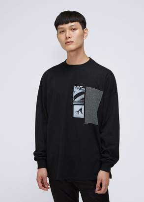 1017 ALYX 9SM Flag Graphic Long Sleeve Tee