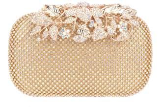 Fawziya Dazzling Leaves Clasp Women Evening Party Bag