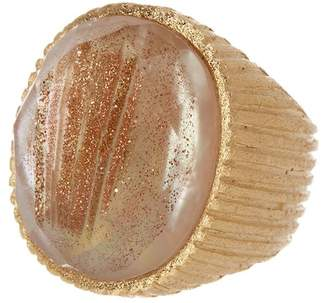 Rivka Friedman Mother of Pearl Satin Ring