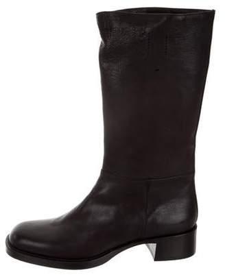 Prada Rodeo Mid-Calf Boots