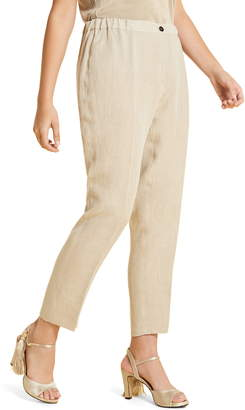 Marina Rinaldi Rende Linen Trousers