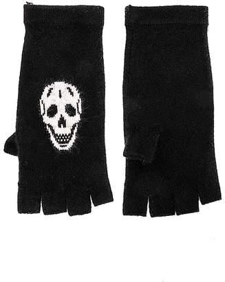 360 Cashmere 360CASHMERE Kaley Skull Gloves