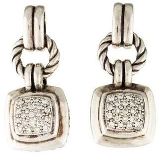 David Yurman Renaissance Pavé Diamond Earrings