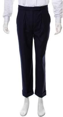 Stella McCartney Flat-Front Cuffed Pants
