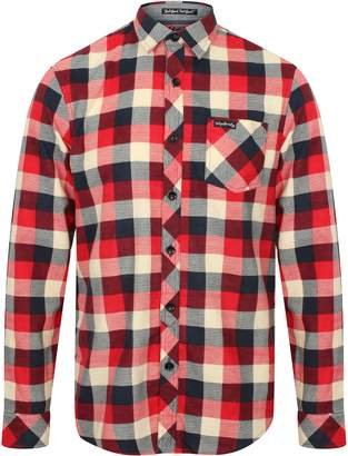 Tokyo Laundry Mens Long Sleeve Cotton Flannel Shirt