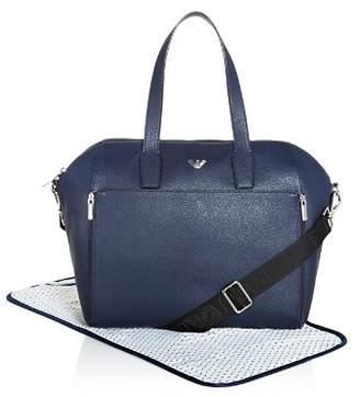 Armani Junior Emporio Armani Top Handle Diaper Bag with Changing Pad - Baby