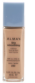 Almay Line Smoothing Makeup, SPF 15, Warm 280