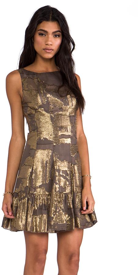Anna Sui Klimt Print Tank Dress