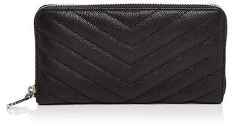 Rebecca Minkoff Edie Quilted Leather Zip Wallet