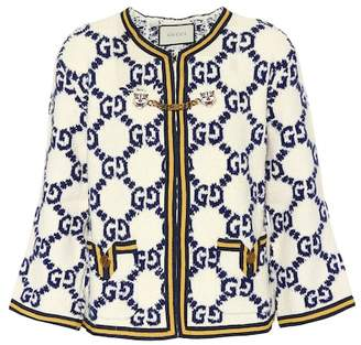Gucci Wool, silk and linen cardigan