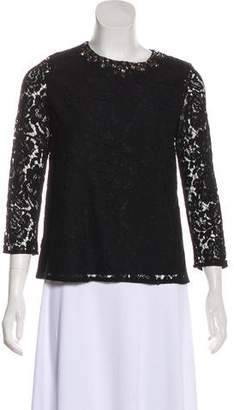Needle & Thread Lace Embellished Top