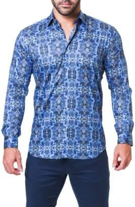 Desigual Maceoo Fibonacci Trim Fit Print Sport Shirt