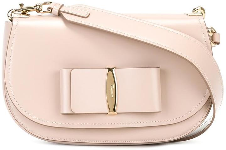 Salvatore Ferragamo Salvatore Ferragamo 'Vara' flap shoulder bag
