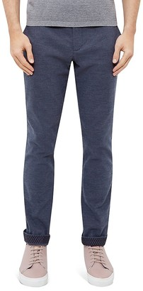 Ted Baker Clasmay Classic Fit Textured Trousers $189 thestylecure.com