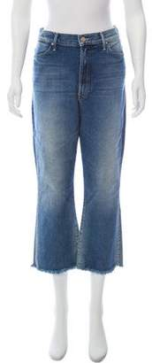 Mother High-Rise Wide-Leg Jeans