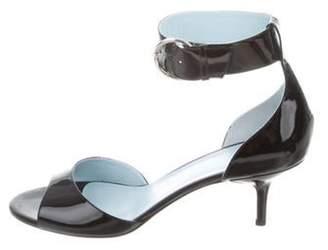 Frances Valentine Lizzie Patent Leather Sandals w/ Tags Black Frances Valentine Lizzie Patent Leather Sandals w/ Tags