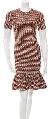 Opening Ceremony Patterned Knee-Length Dress w/ Tags
