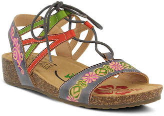 Spring Step L'Artiste by Loma Wedge Sandal - Women's