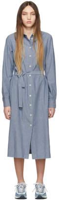 A.P.C. Blue Karen Dress
