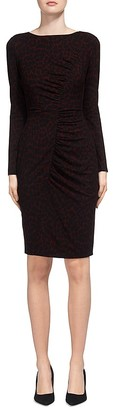 Whistles Animal-Print Body-Con Dress $199 thestylecure.com