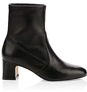 Stuart Weitzman Women's Nikita Leather Ankle Boots