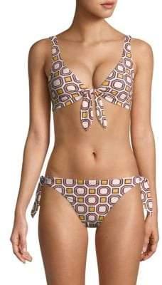 Tory Burch Biarritz Printed Bikini Top