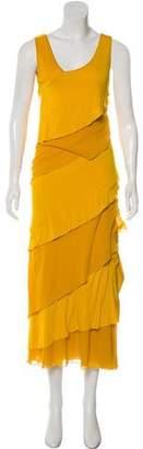 Fuzzi Layered Maxi Dress