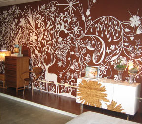 Moroso Tord Boontje Wall Graphic