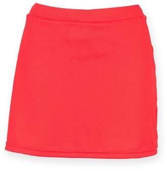 Finden & Hales Womens/Ladies Sports Skort With Moisture Wicking Finish (XL)