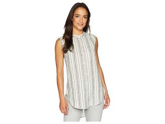 Lucky Brand Stripe Tunic Top Women's Sleeveless