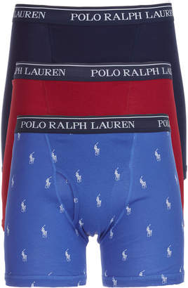 Polo Ralph Lauren Men 3-Pk. Classic Boxer Briefs