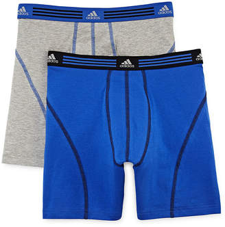 adidas 2-pk. Athletic Stretch climalite Boxer Briefs