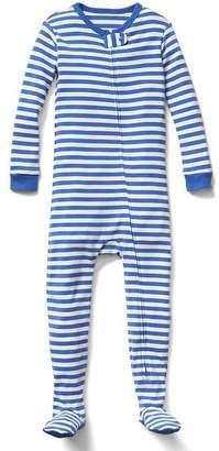 Organic stripe footed sleep one-piece $36.95 thestylecure.com