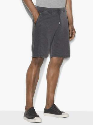 John Varvatos Burnout French Terry Shorts
