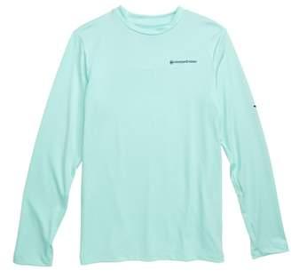 Vineyard Vines Long Sleeve Vented Boating T-Shirt