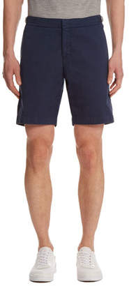 Orlebar Brown Dane Twill Shorts, Navy