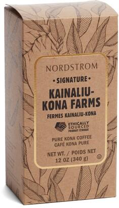 Nordstrom Signature Kainaliu Kona Farms 100% Kona Whole Bean Coffee