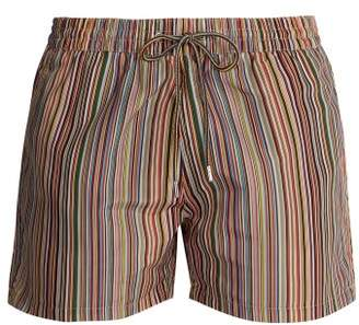 Paul Smith Signature Stripe Print Swim Shorts - Mens - Multi