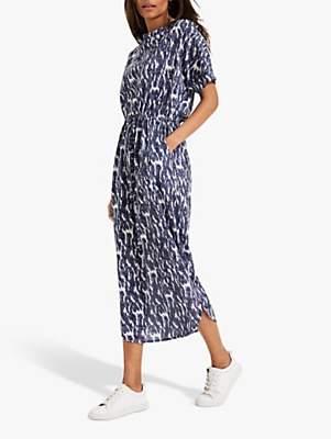 Phase Eight Madison Print Dress, Blue/Multi