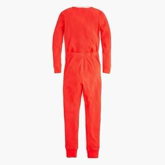 J.Crew Kids' waffle-knit union suit