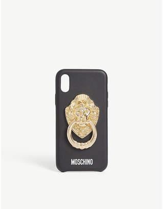 Moschino Lion knocker iphone xs case