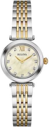 Bulova Diamond Accent Women's Bracelet Watch