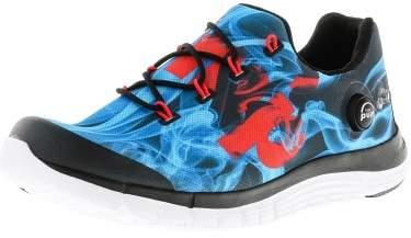 Reebok Women's Z Pump Fusion Flame Black / Blue Cherry White Silver Fabric Running Shoe - 8.5M