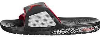 Jordan Nike Men's Hydro III Retro Black/University Red Sandal 8 Men US