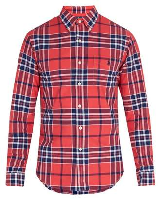 Polo Ralph Lauren Oxford Checked Shirt - Mens - Red Multi