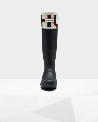 Hunter Women's Original Exploded Logo Cuff Boot Socks